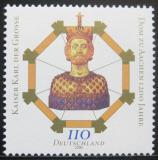 Poštovní známka Německo 2000 Aachenská katedrála, 1200. výročí Mi# 2088