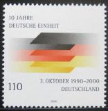 Poštovní známka Německo 2000 Znovuspojení Německa Mi# 2142