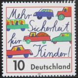 Poštovní známka Německo 1997 Bezpečnost pro děti Mi# 1954