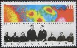 Poštovní známka Německo 1998 Společnost Maxe Plancka Mi# 1973