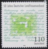 Poštovní známka Německo 1998 Vesnická asociace žen Mi# 1988