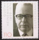 Poštovní známka Německo 1999 Prezident Gustav Heinemann Mi# 2067