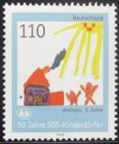 Poštovní známka Německo 1999 SOS dětská vesnička Mi# 2062