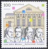 Poštovní známka Německo 1999 Weimar, 1100. výročí Mi# 2028