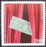 Poštovní známka Německo 1996 Asociace německých divadel Mi# 1857