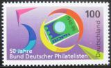 Poštovní známka Německo 1996 Asociace německých filatelistů Mi# 1878