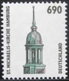 Poštovní známka Německo 1996 Kostel sv. Michala Mi# 1860 Kat 7€