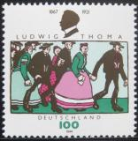 Poštovní známka Německo 1996 Ludwig Thoma, satirista Mi# 1870