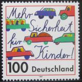 Poštovní známka Německo 1997 Bezpečnost dětí Mi# 1897