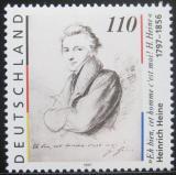 Poštovní známka Německo 1997 Heinrich Heine, básník Mi# 1962