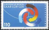 Poštovní známka Německo 1997 Sársko-lucemburský sumit Mi# 1957