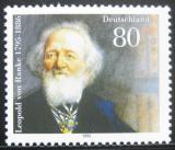 Poštovní známka Německo 1995 Leopold von Ranke, historik Mi# 1826