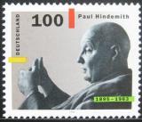 Poštovní známka Německo 1995 Paul Hindemith, skladatel Mi# 1827