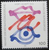 Poštovní známka Německo 1995 Svoboda projevu Mi# 1789