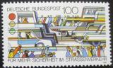 Poštovní známka Německo 1991 Bezpečnost silničního provozu Mi# 1554