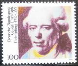 Poštovní známka Německo 1992 Georg Lichtenberg, fyzik Mi# 1616