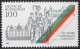 Poštovní známka Německo 1993 Coburgerský konvent Mi# 1676