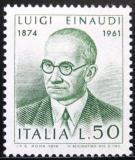 Poštovní známka Itálie 1974 Prezident Luigi Einaudi Mi# 1437