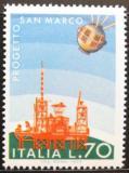 Poštovní známka Itálie 1975 Satelitní projekt Mi# 1492