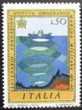 Poštovní známka Itálie 1973 Hydrogragfický institut Mi# 1389
