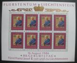 Poštovní známky Lichtenštejnsko 1986 Franz Josef II. Mi# 903 Kat 50€