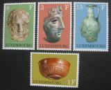 Poštovní známky Lucembursko 1972 Archeologické nálezy Mi# 842-45