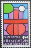 Poštovní známka Lichtenštejnsko 1986 Obětování Mi# 895