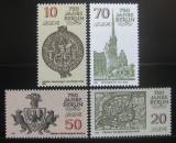 Poštovní známky DDR 1986 Berlín, 750. výročí Mi# 3023-26