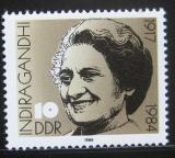 Poštovní známka DDR 1986 Indira Gandhiová, politička Mi# 3056