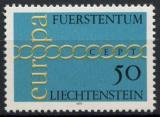 Poštovní známka Lichtenštejnsko 1971 Evropa CEPT Mi# 545
