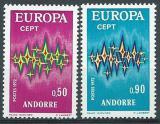 Poštovní známky Andorra Fr. 1972 Evropa CEPT Mi# 238-39 Kat 20€