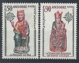 Poštovní známky Andorra Fr. 1974 Evropa CEPT Mi# 258-59 Kat 25€