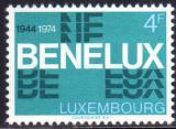 Poštovní známka Lucembursko 1974 BENELUX, 30. výročí Mi# 891