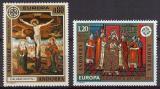 Poštovní známky Andorra Fr. 1975 Evropa CEPT Mi# 264-65