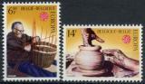 Poštovní známky Belgie 1976 Evropa CEPT Mi# 1857-58
