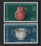 Poštovní známky Guernsey 1976 Evropa CEPT Mi# 133-34