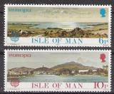 Poštovní známky Ostrov Man 1977 Evropa CEPT Mi# 95-96