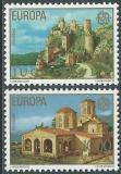Poštovní známky Jugoslávie 1978 Evropa CEPT Mi# 1725-26