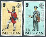 Poštovní známky Ostrov Man 1979 Evropa CEPT Mi# 142-43