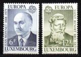 Poštovní známky Lucembursko 1980 Evropa CEPT Mi# 1009-10