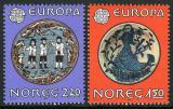 Poštovní známky Norsko 1981 Evropa CEPT Mi# 836-37