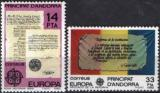 Poštovní známky Andorra Šp. 1982 Evropa CEPT Mi# 153-54