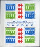 Poštovní známky Monako 1984 Evropa CEPT Mi# Block 26 Kat 17€