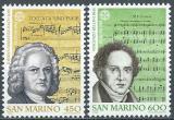 Poštovní známky San Marino 1985 Evropa CEPT Mi# 1313-14