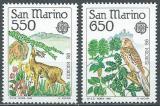 Poštovní známky San Marino 1986 Evropa CEPT Mi# 1339-40 Kat 25€