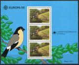 Poštovní známky Azory 1986 Evropa CEPT, ptáci Mi# Block 7 Kat 11€