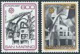 Poštovní známky San Marino 1987 Evropa CEPT Mi# 1354-55 Kat 22€