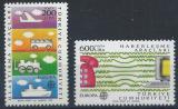 Poštovní známky Turecko 1988 Evropa CEPT Mi# 2808-09 Kat 18€