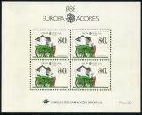 Poštovní známky Azory 1988 Evropa CEPT Mi# Block 9 Kat 12€