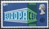 Poštovní známka Velká Británie 1969 Evropa CEPT Mi# 512